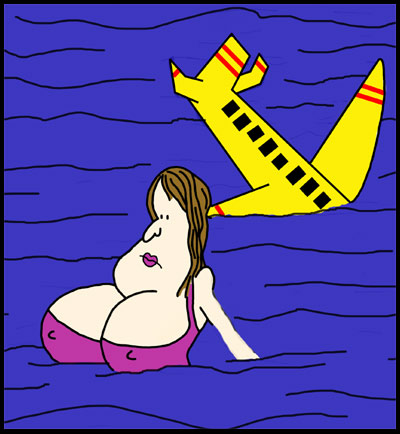 Doris was the only passenger who managed to stay afloat after the horrific ocean crash.