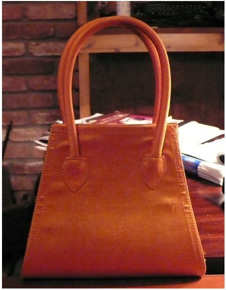 Orange purse