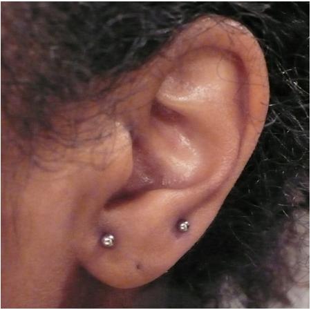 New ear piercings!
